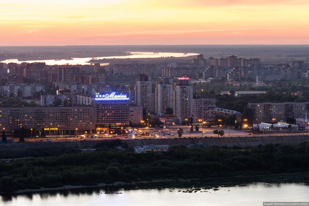 Площадь Ленина в Нижнем Новгороде