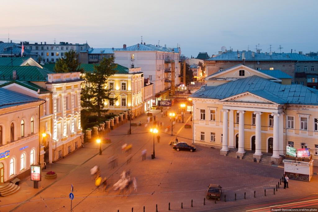 Большая покровская, ДК им. Свердлова в Нижнем Новгороде