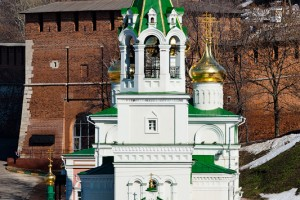 Нижегородский кремль и Церковь Рождества Иоанна Предтечи