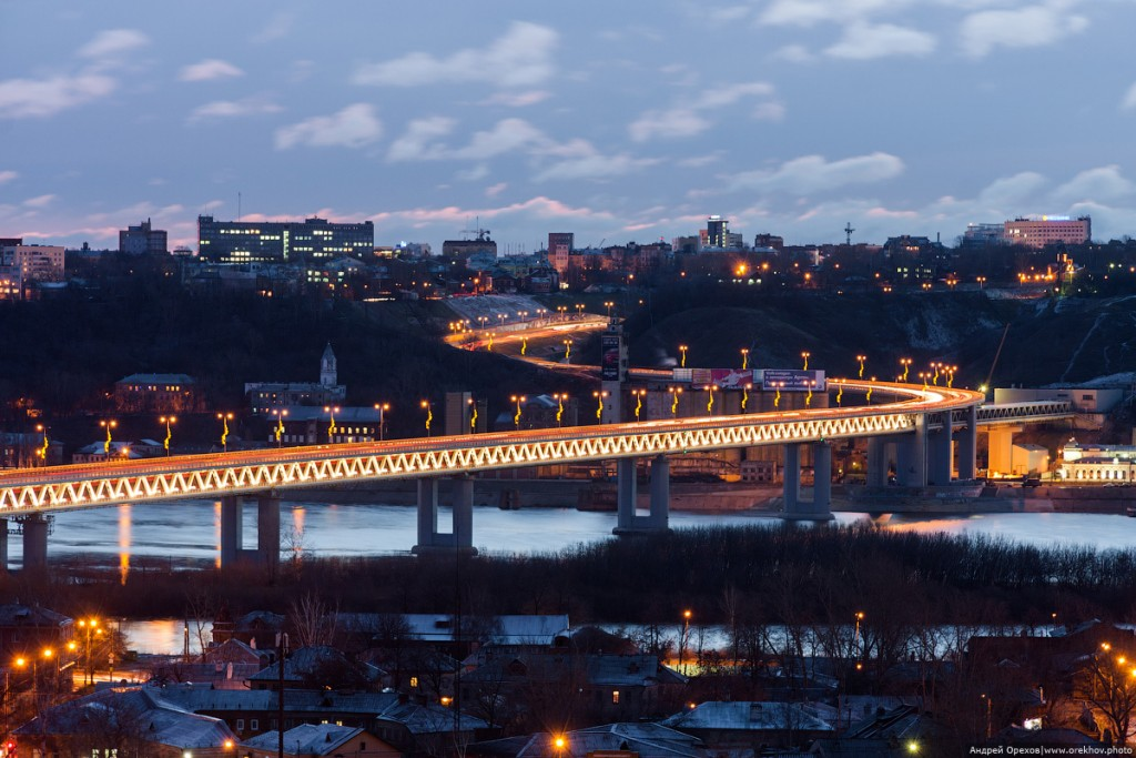 Метромост в Нижнем Новгороде