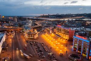 Площадь Революции в Нижнем Новгороде