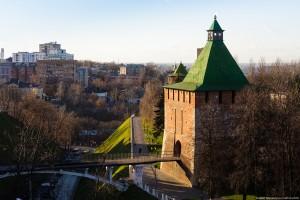 Башня Кремля в Нижнем Новгороде