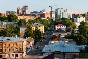Улица Алексеевская в Нижнем Новгороде