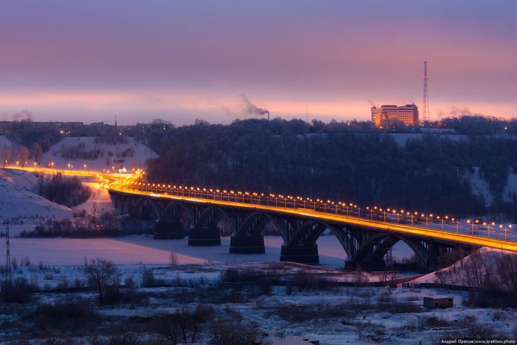 Молитовский мост зимой